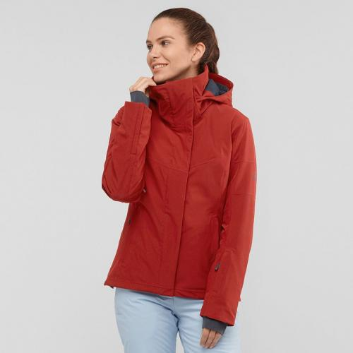 Salomon Kurtka damska Speed Jacket W Red Dahlia r. L