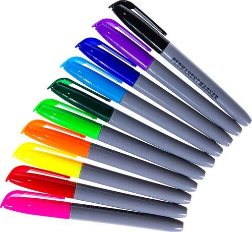 Pepco PEPCO - markery permanentne 10 kolorów