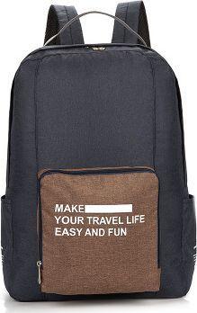 Małpa World Plecak składany - podróżny, miejski, praktyczny!