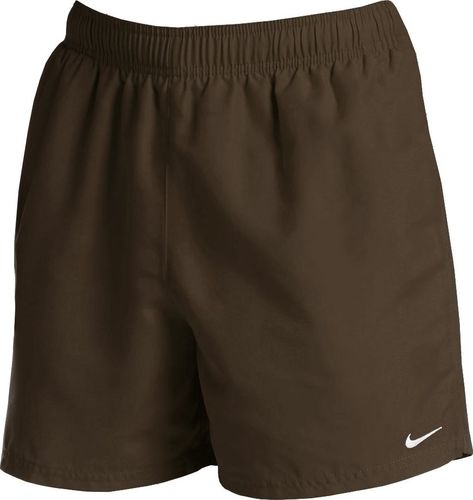 Nike Spodenki kąpielowe męskie Nike Essential oliwkowe NESSA560 211 : Rozmiar - S