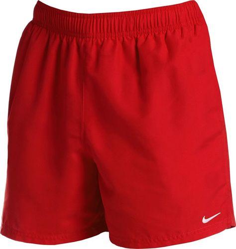 Nike Spodenki kąpielowe męskie Nike 7 Volley czerwone NESSA559 614 : Rozmiar - S