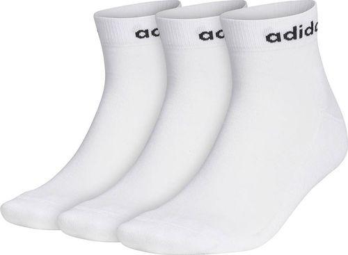 Adidas Skarpety adidas Hc Ankle 3PP białe GE1381 : Rozmiar - 46-48