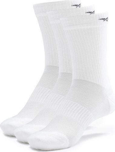 Reebok Skarpety męskie Reebok Te Mid Crew Sock 3p Białe GH0416 : Rozmiar - 40-42