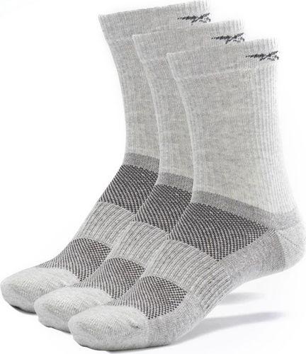 Reebok Skarpety męskie Reebok Te mid Crew Sock 3p szare GH0417 : Rozmiar - 46-48