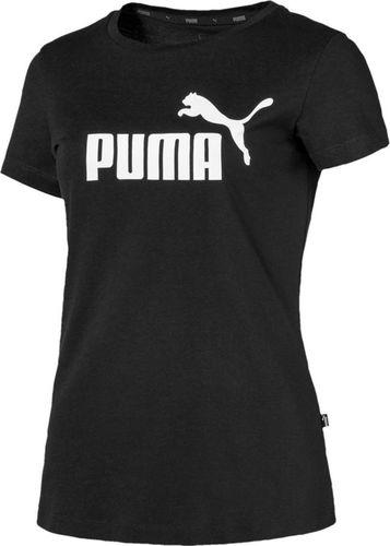 Puma Koszulka damska Puma Ess Logo Tee czarna 851787 01