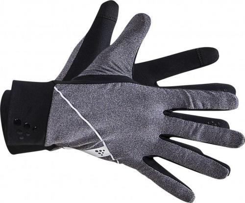 Craft Rękawiczki sportowe Core Jersey Glove Black Melange r. L