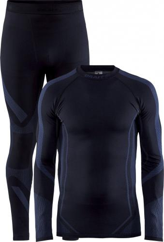 Craft Komplet bielizny męskiej Dry Fuseknit Set Black/Asphalt r. XL
