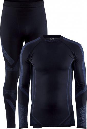 Craft Komplet bielizny męskiej Dry Fuseknit Set Black/Asphalt r. L