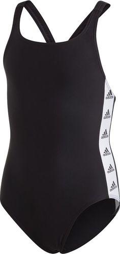 Adidas Kostium adidas YG Tape Suit GE2054 GE2054 czarny 128 cm