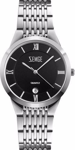 Zegarek Zemge męski Wallstreet ZC0801M czarny