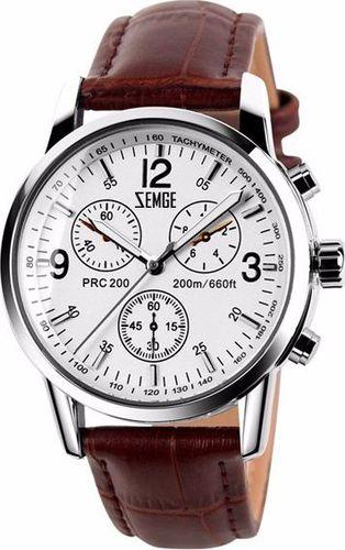 Zegarek Zemge męski Wallstreet ZC0102M biały