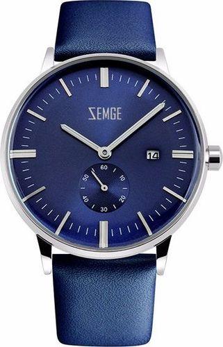 Zegarek Zemge męski Wallstreet ZC0302M niebieski