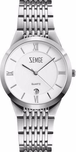 Zegarek Zemge męski Wallstreet ZC0802M biały