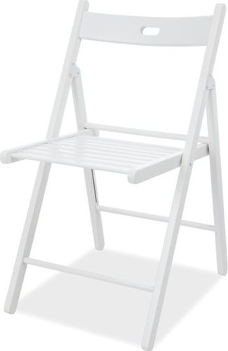 SELSEY Krzesło Tarragon białe