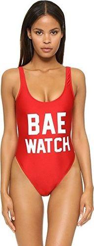 Pan i Pani Gadżet Jednoczęsciowy, strój kąpielowy BAE WATCH