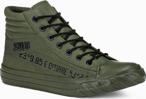 Ombre Buty męskie khaki r. 41 (T357)