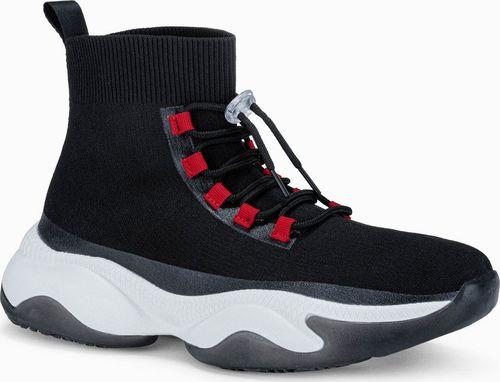 Ombre Buty męskie sneakersy T355 - czarne 40