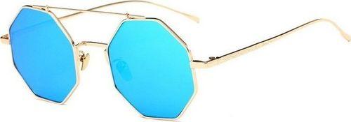 Pan i Pani Gadżet Okulary przeciwsłoneczne oktagonalne