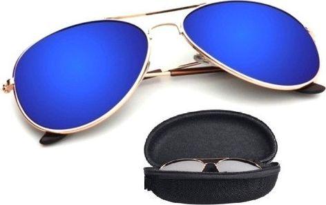 Pan i Pani Gadżet Okulary przeciwsłoneczne pilotki aviator