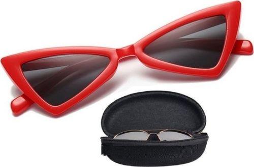 Pan i Pani Gadżet Okulary przeciwsłoneczne trójkątne retro