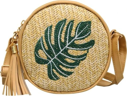 Pan i Pani Gadżet Okrągła torebka na ramię z eco skórą