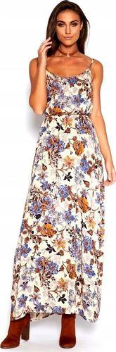 Pan i Pani Gadżet Maxi suknia w kwiaty