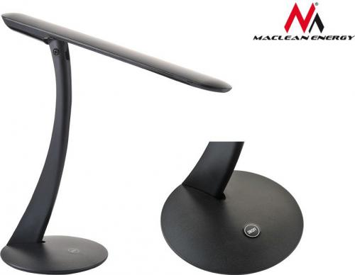Lampka biurkowa Maclean LED czarna (MCE111)