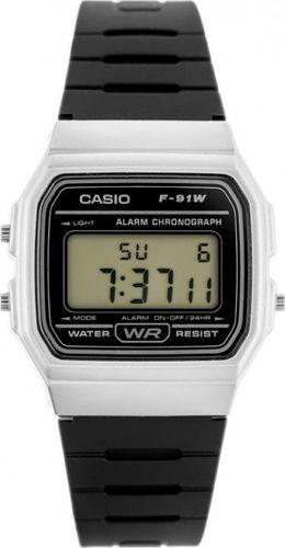 Zegarek Casio ZEGAREK MĘSKI CASIO F-91WM-7ADF (zd102a)
