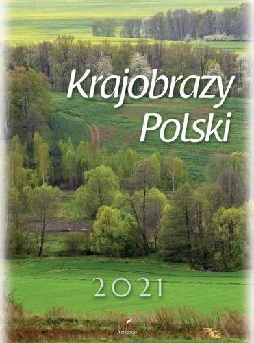 Artsezon Kalendarz 2021 Ścienny Krajobraz Polski ARTSEZON