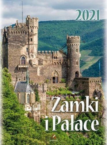Artsezon Kalendarz 2021 Ścienny Zamki i pałace ARTSEZON
