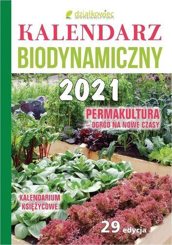 Działkowiec Kalendarz biodynamiczny 2021