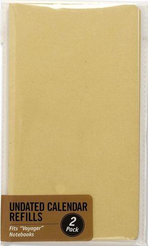 Peter Pauper Press Wkład kalendarzowy do notatnika Voyager