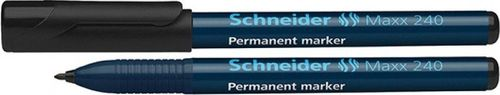 Schneider Marker permanentny SCHNEIDER Maxx 240, 1-2mm, czarny