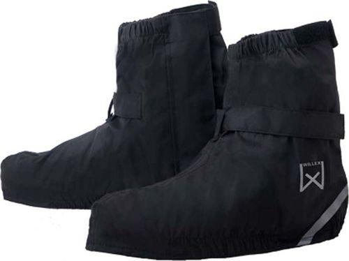 Willex Willex Ochraniacze na buty rowerowe, krótkie, 36-39, czarne, 29423