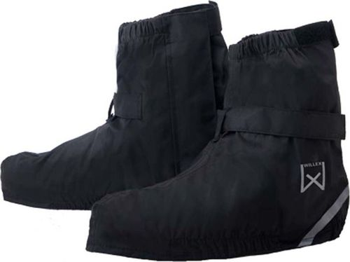 Willex Willex Ochraniacze na buty rowerowe, krótkie, 44-48, czarne, 29425