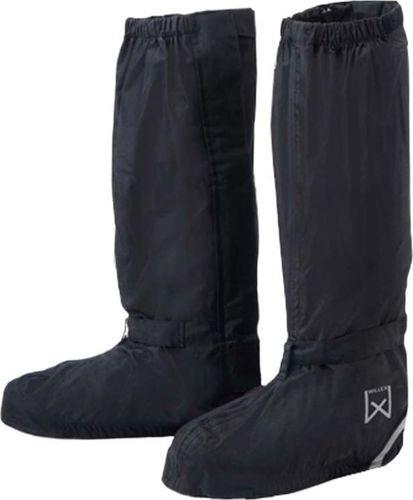Willex Willex Ochraniacze na buty rowerowe, długie, 36-39, czarne, 29426