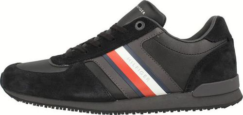 Tommy Hilfiger Tommy Hilfiger Iconic Mix Runner Black - Sneakersy męskie 40