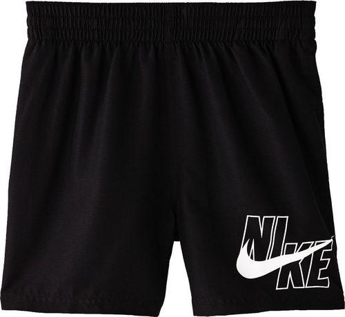 Nike Spodenki kąpielowe dla dzieci Nike Logo Solid Lap Junior czarne NESSA771 001 XS