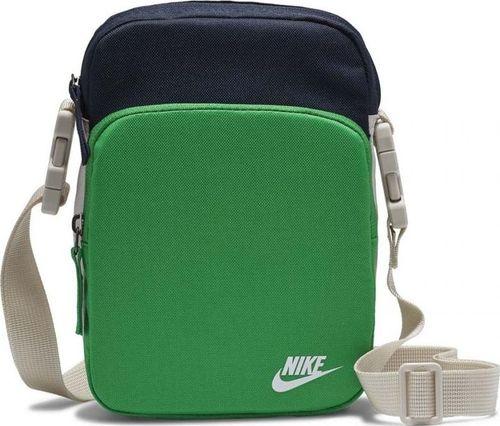 Nike Torebka Nike Heritage Smit 2.0 zielono-granatowa BA5898 310