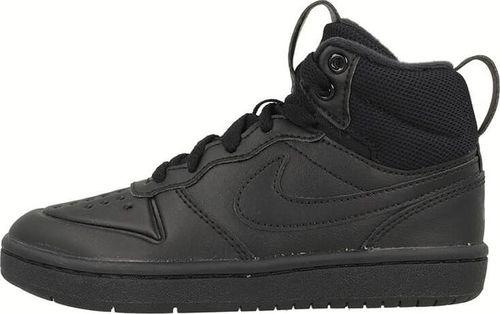 Nike Nike Court Borough Mid 2 Boot BQ5442-001 - Buty dziecięce za kostkę 28