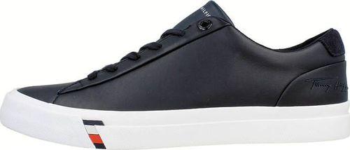 Tommy Hilfiger Tommy Hilfiger Corporate Leather Sneaker - Tenisówki męskie 45