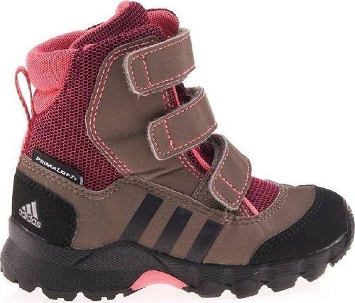Adidas Buty dziecięce Cw Holtanna Snow brązowe r. 20 (G61394)