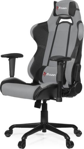 Fotel Arozzi Torretta XL Szaro-czarny (TORRETTA-XLF-GY)