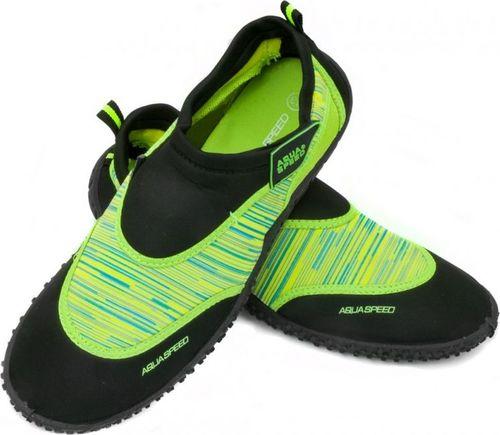 Aqua-Speed Buty plażowe dla dzieci 2B Zielone r. 31