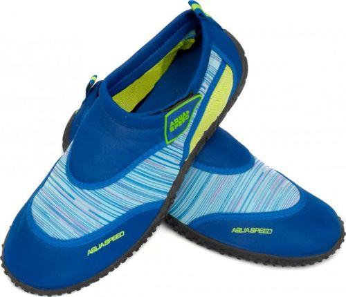 Aqua-Speed Obuwie plażowe, buty do wody, damskie, męskie MODEL 2C granatowe Rozmiar 39