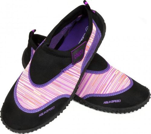 Aqua-Speed Buty plażowe dla dzieci 2A różowe r. 27
