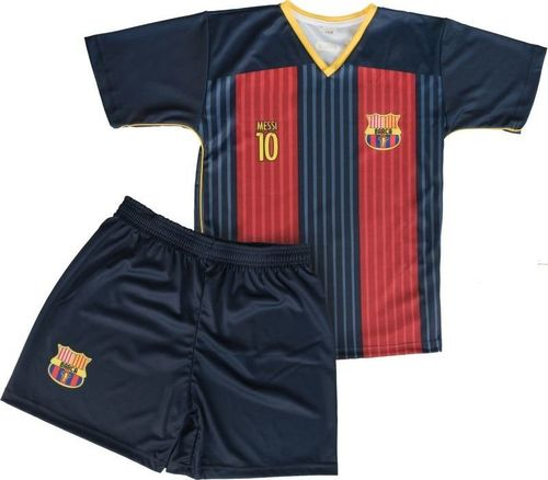 Reda Komplet piłkarski Reda Barcelona Messi 10 junior granatowo-czerwony 122