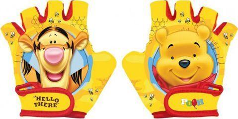 Winnie The Pooh Rękawiczki rowerowe, dziecięce KUBUŚ PUCHATEK Rozmiar S