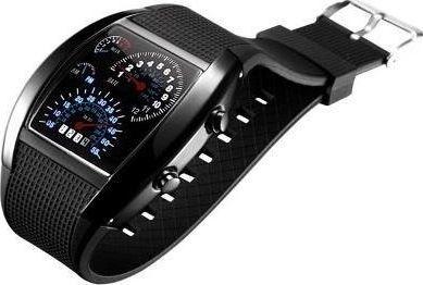 Zegarek VIBAC męski ZG5 led binarny formuła f1