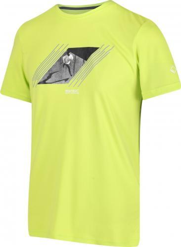 Regatta Koszulka męska Fingal V ElectricLime r. M (RMT216)